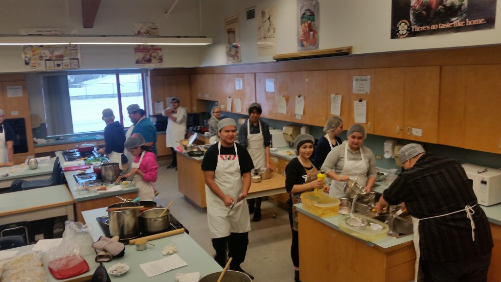 Intro to Foods Class 12